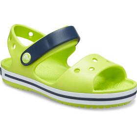 Crocs Crocband Sandali Bambino, lime punch